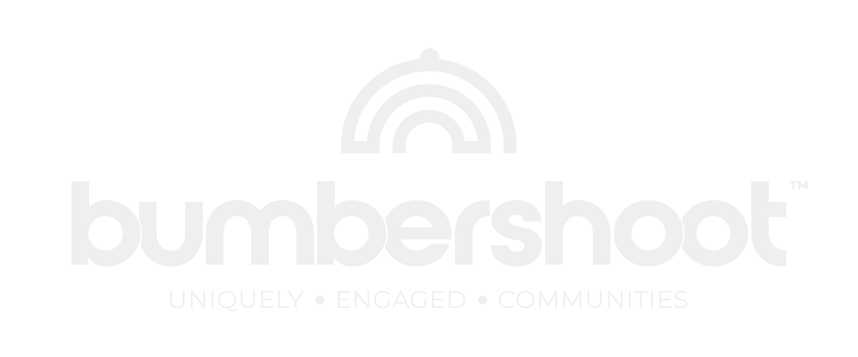White Bumbershoot logo